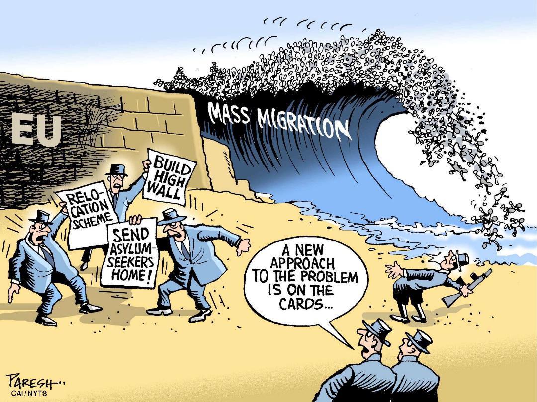 Invandning ingen behover tvinga oss
